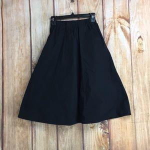 🐞Everlane Black Cotton Skirt Size XSmall